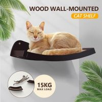 Petscene Cat Bed Cat Wall Shelves Cat Perch Wall Mounted Cat Tree
