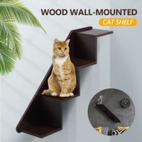 Petscene Cat Stairs Cat Wall Shelves Perch Cat Furniture