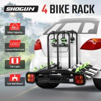 4 Bike Rack for Car Bike Tow Ball Bicycle Rack Bicycle Carrier