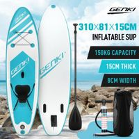 GENKI 310m Inflatable Stand Up Paddle Board SUP Boards Kayak with Accessories Blue