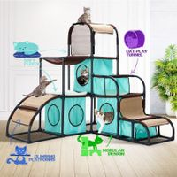 Petscene Cat Furniture Cat Tree Cat Climbing Tower Kit