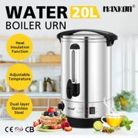 Maxkon 20L Hot Water Urn Instant Hot Water Dispenser with Double Layer
