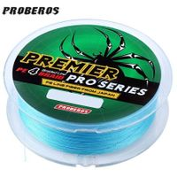 PROBEROS 100M Durable Colorful PE 4 Strands Monofilament Braided Fishing Line Angling Accessory