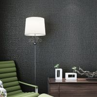 3D Self Adhesive  Non-Woven Wall Paper 53CMX5M Black