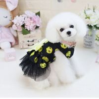 Pet Dress Dog Lace Skirt Lace  Wedding Party S