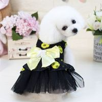 Pet Dress Dog Lace Skirt Lace  Wedding Party L
