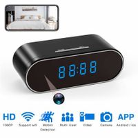 Clock Mini Camera 1080P HD micro camera espia wifi camera Security Night Vision Motion Detection wifi Secret Camera gizli kamera