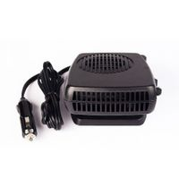 New Car Heater Air Cooler Fan Windscreen Demister Defroster 12V(Black)