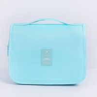 Hanging Travel Waterproof Toiletry Bag Cosmetic Make up Organizer  Col. Sky Blue