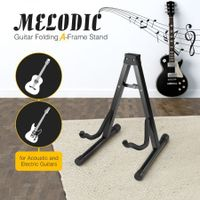 Melodic A Frame Guitar Stand for Electric Acoustic Bass Guitar Folding Portable Holder