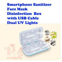 Portable UV Sterilizer Box With Ozone Sanitizing Disinfection Box with USB Cable  for Maks , Cell Phone,Beauty Tools ,Underwear, Nail Salon Equipment,Eyeglasses,Jewelry