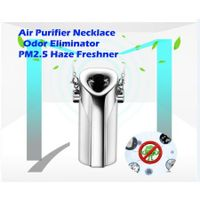 Wearable Air Purifier filter Necklace PM2.5 Haze Freshner Ionizer Negative Ion Generator Odor Eliminator  Remove Smoke Anti Dust