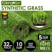 Edengrass 10SQM 32mm Artificial Grass Synthetic Turf Fake Lawn