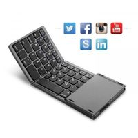 Pocket Size  Wireless Keyboard with Touchpad for Android, Windows, PC, Tablet,