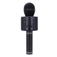 Bluetooth Karaoke Microphone Wireless Microphone Col.black