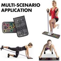 13 in 1 Push-Up Board System with Pull Rope, Body Building Exercise Tools Workout Push-up