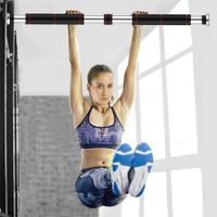 Pull Up Bars Home Exercise Gym Chin Up Bars for Doorway Adjustable 85cm-115cm