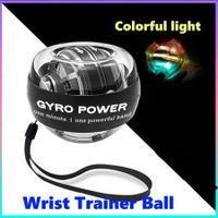 Wrist Trainer Ball Auto-Start Excerises Palm ball Arm Strengthener with colorful light