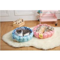 Pumpkin Nest Kennel Adjustable PP Cotton Pet Cat Dog Bed 70x70cm