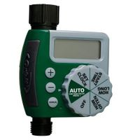 Single-Outlet Hose Watering Timer, 1, Green