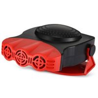 150W 12V Car Portable Fan Heater Windscreen Window Demister Defroster