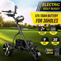 New Remote Control Golf Trolley Twin Motor Electric Foldable Golf Buggy Cart