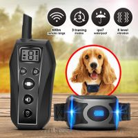 Remote Anti Bark Collar Rechargeable Dog Training Shock Collar 3 Training Modes