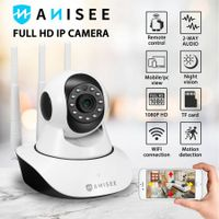 1080P WiFi Wireless PTZ IP Camera for Home Security Surveillance System w/ Motion Detection Remote Access 128GB