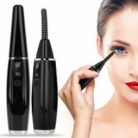 Electric Eyelash Curler USB Rechargeable 2 Temperature heating LED Display