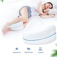 Leg Knee Foam Support Pillow Soothing Pain Relief for Sciatica, Back, Hips, Knees, Joints & Pregnancy