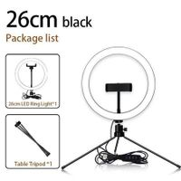 10.2 Inch Ring Light with Stand, SAVEYOUR Selfie LED Ring Light with Tripod And Cell Phone Holder And Pad Holder for Live Stream/Makeup/Photography/Video Compatible with iPad iPhone Android