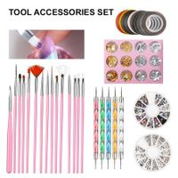 Manicure Nail Art tools kit 44PCS
