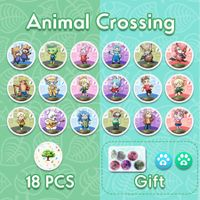 18pcs NFC Card for Nintendo Switch 3DS Animal Crossing Amiibo Card Animal Crossing New Horizons amiibo series Figuras