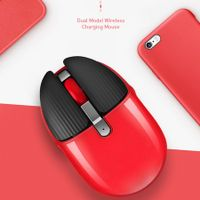 Bunny Mouse Bluetooth 2.4Ghz Wireless Dual-Mode Silent Rechargeable