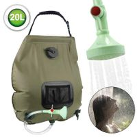 20L Collapsible Foldable shower Water Bath bag