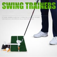 Golf swing trainers mat