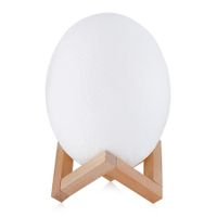 3D Printing Dinosaur Egg Light Pat Night Lamp 3 Colors for Bedroom