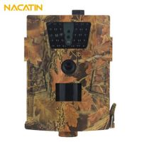 NACATIN ht - 001B Digital Wildlife Trail Camera 30PCS Infrared LEDs IP65 Waterproof 1080P Image