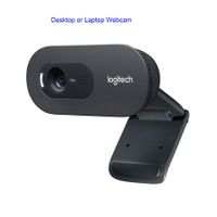 Logitech C270i PTV 960-001084 Desktop or Laptop Webcam, HD 720p Widescreen for Video Calling and Recording
