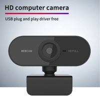 HD Webcam Desktop or Laptop,USB Web Camera Built-in Mic