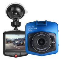 Car DashCam Vehicle Blackbox DVR 1080P HD 2.4 Inch Screen Col.Blue