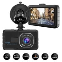 Dash Camera for Cars Recorder, Video Dash Cam 3 Inch 1080P Full HD Wide Angle Driving Recorder with Night Vision WDR G-Sensor Parking Monitor Loop Recording Motion Detection