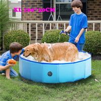 160cm x 30cm Size XL Foldable Pool for Pet bath Tub and Kids Pool 3 sizes available
