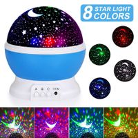 Night Light for Kids, Moon Star Projector  for Baby Kids Women, Christmas Party Bedroom Decoration