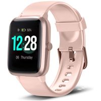 Smart Watch Fitness Tracker Heart Rate Monitor Step Calorie Counter Sleep Monitor for Women Men
