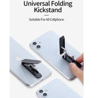 U100 Universal Kickstand Compatible with Any Cellphone - Black (US Patent Pending)