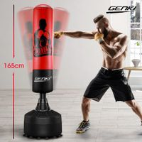 Genki 165cm Free Standing Punching Boxing Bag Stand MMA UFC Training Gear