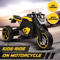 6V Kids Electric Ride On Motorcycle Triple Wheel Toy Motorbike