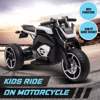 6V Kids Electric Ride On Motorcycle 3 Wheels Toy Motorbike