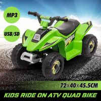 6V Kids Electric Ride On ATV Quad Bike 4 Wheeler Toy Car